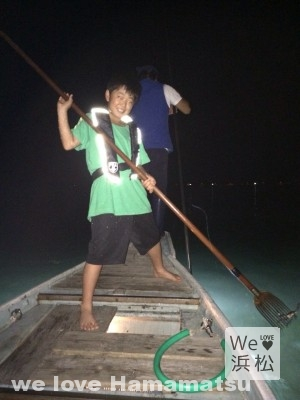 浜名湖のたきや漁