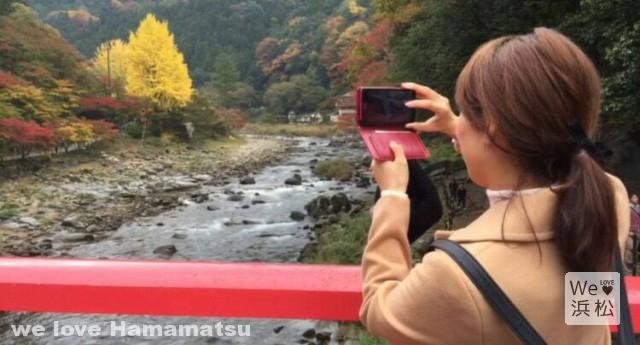 香嵐渓の絶景ポイント