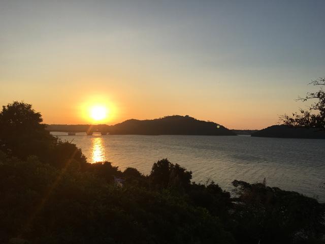 浜名湖SAの日の出