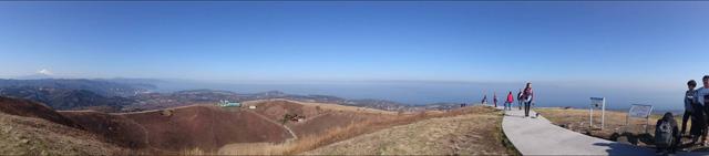 大室山からの大パノラマ
