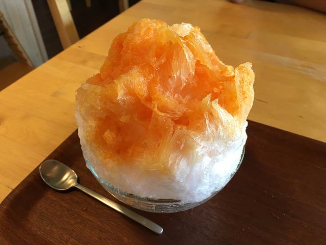 菓子巧房ほほえみのかき氷