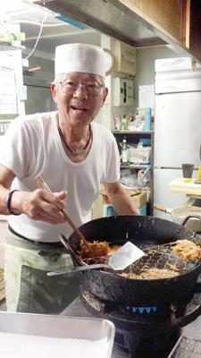 いりかまのお父さんの料理は絶品