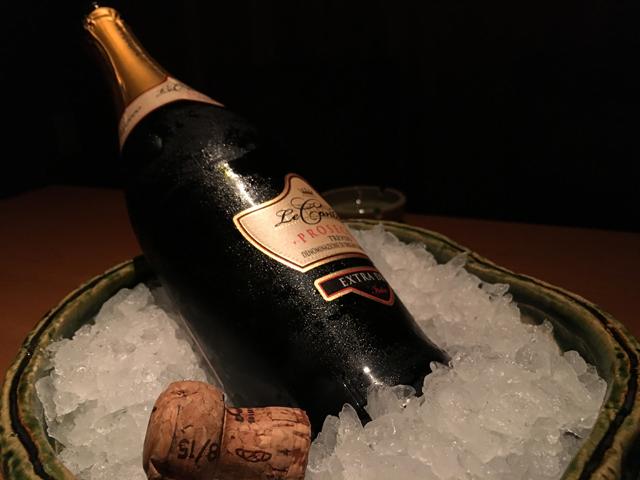 くずし之助 スパークリングワイン