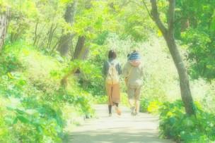 浜松フラワーパークを散策