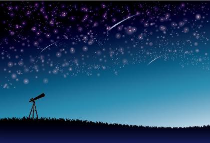 天体観測 星空