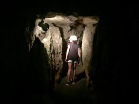 浜松市鷲沢風穴洞窟探検