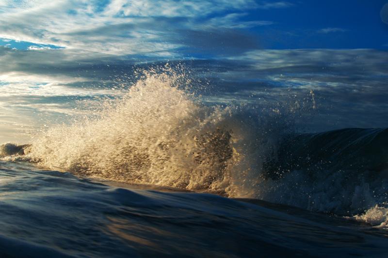 中田島砂丘の波