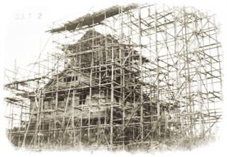 浜松城の再建