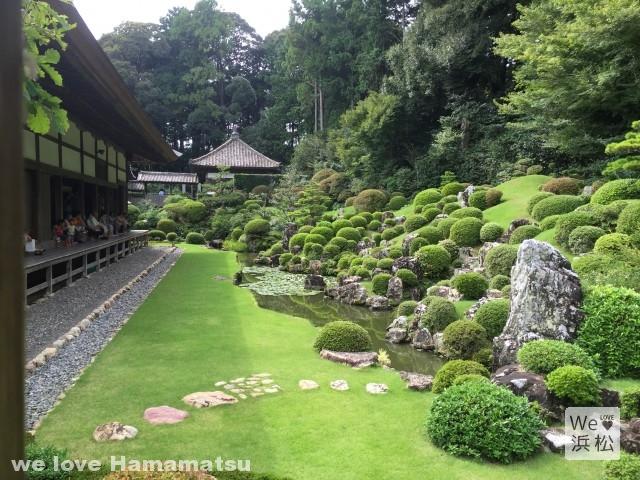 龍潭寺 庭園