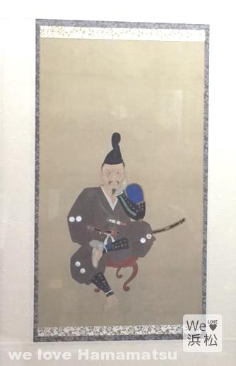 浜松城天守閣:しかみ像