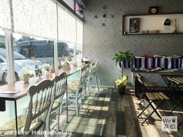 湖西市にある海辺の南国風カフェ「growcafe]
