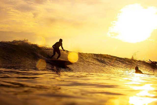 驚きの堀越ファミリー サップサーフィンの実力
