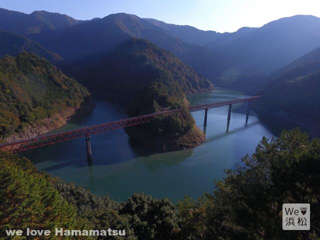 陸の孤島!奥大井湖上へのんびり紅葉旅!浜松から日帰りプチ旅行