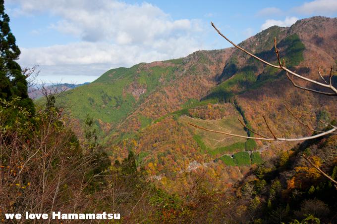 山住神社からの紅葉