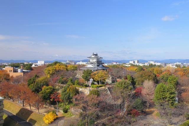 浜松城公園 紅葉