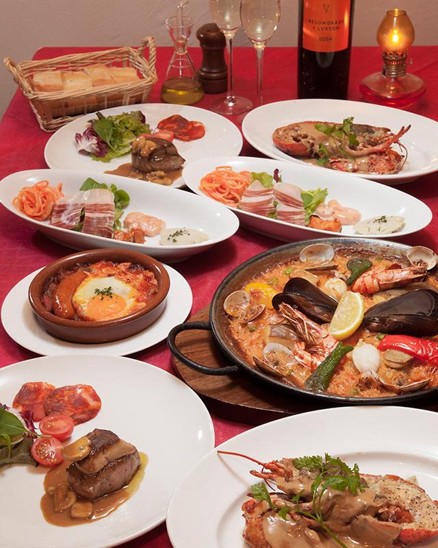 SPAIN Restaurant & Bar エルカミーノ 料理