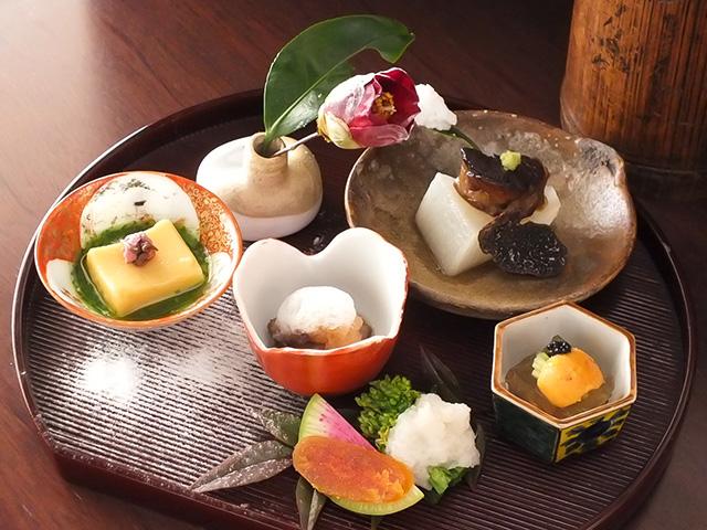 柚露コース料理
