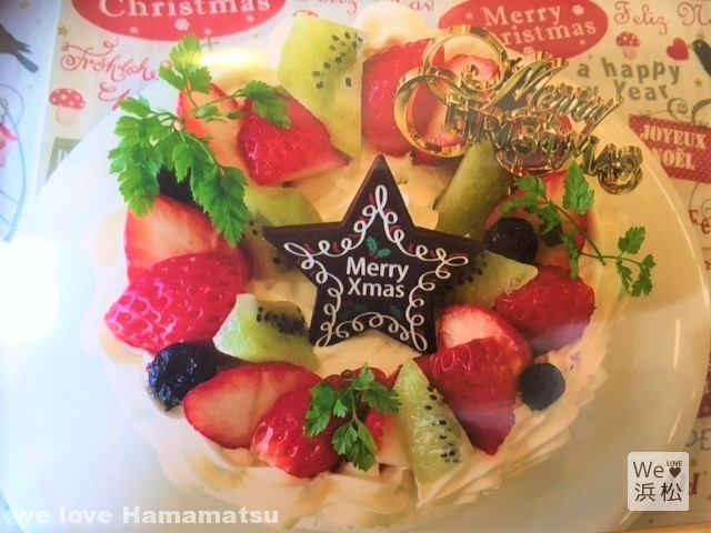 お好み焼き 奈な:クリスマスケーキ