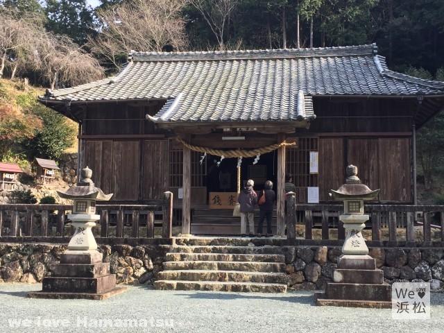 【井伊直虎ゆかりの地観光⑧】直虎の花押が入った書状が見つかった蜂前神社