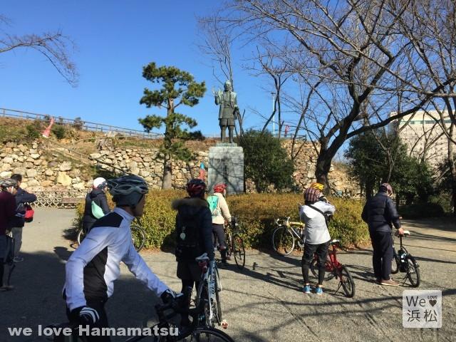 家康の散歩道:浜松城