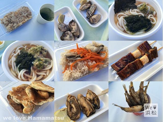 浜小屋マルシェ 牡蠣料理