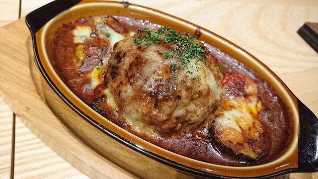 ライフのハンバーグは肉汁ジュワ〜