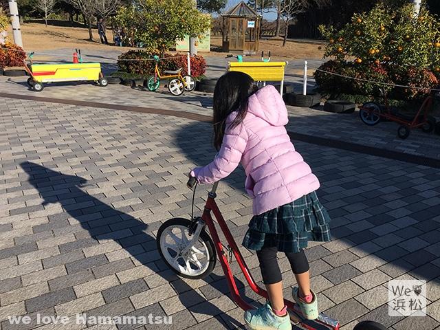 はままつフルーツパーク おもしろ自転車
