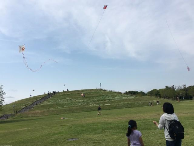 浜松まつり会館:ミニ凧凧揚げ