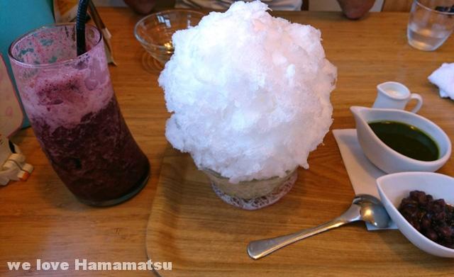 ふわっふわのかき氷ふくカフェ