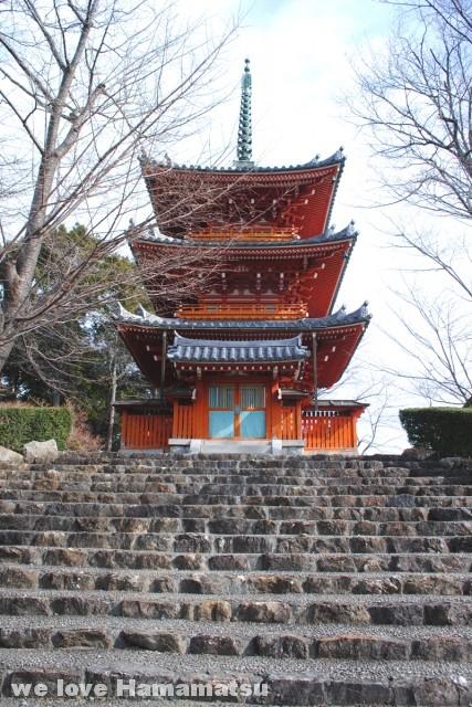 方広寺三重塔