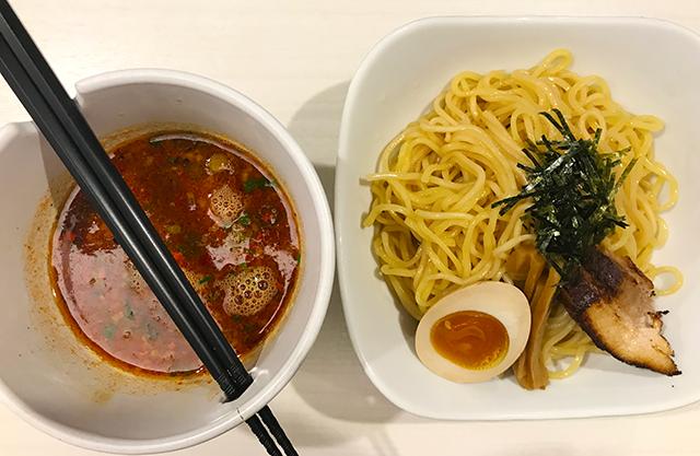 浜松のつけ麺:電撃羅愛麺 青空きっど 零壱