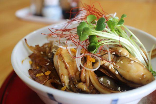 牡蠣カバ丼:喜福