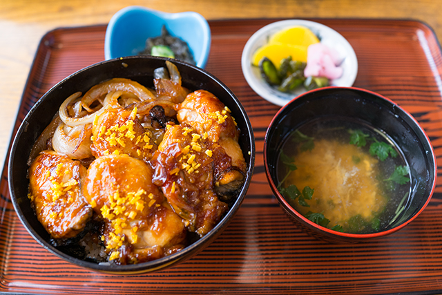 牡蠣カバ丼:うなぎ和食処 松の家