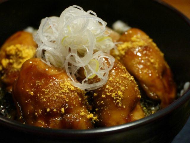 牡蠣カバ丼:旬彩 一徳