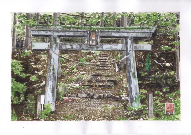 JR飯田線第2弾 河内浦の鳥居
