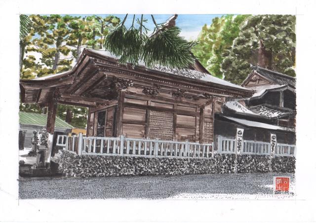 飯田線第2弾 山住神社