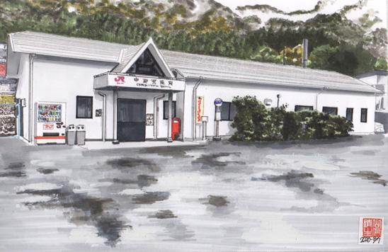 飯田線沿いの地元の残したい風景:中部天竜駅
