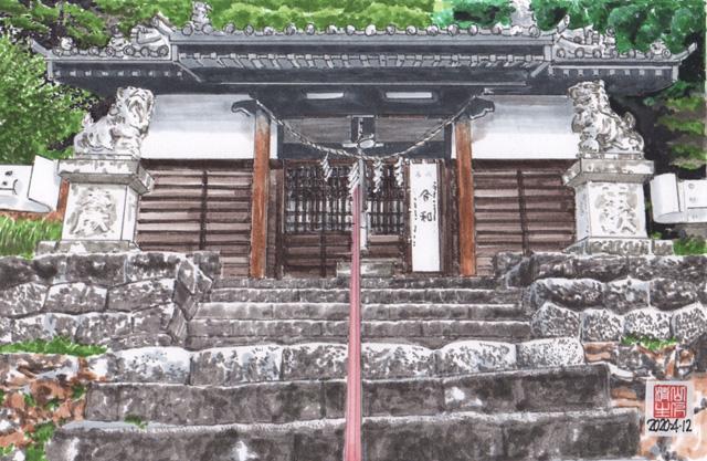 地元に残したい風景:飯田線:熊野神社