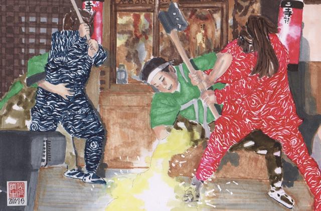 静岡県浜松市のまつり 秋冬編:寺野ひよんどり