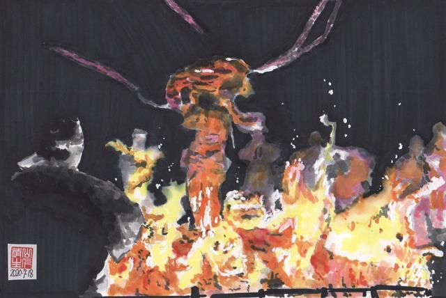 静岡県浜松市のまつり 秋冬編:秋葉寺の大護摩供養