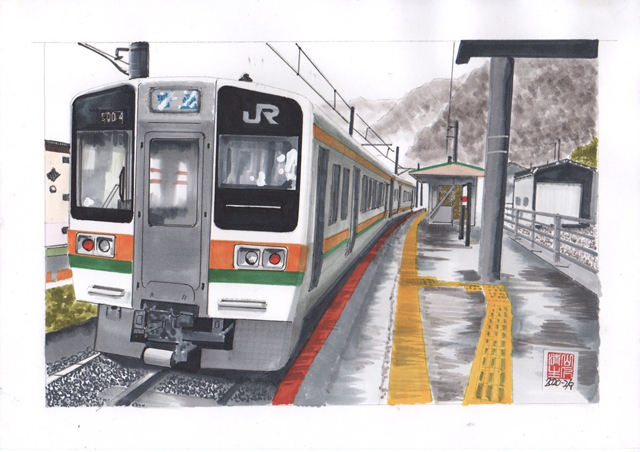 JR佐久間駅