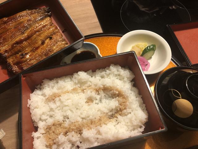 レストラン「いなんば」:鰻
