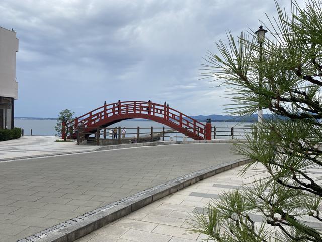 舘山寺:志ぶき橋