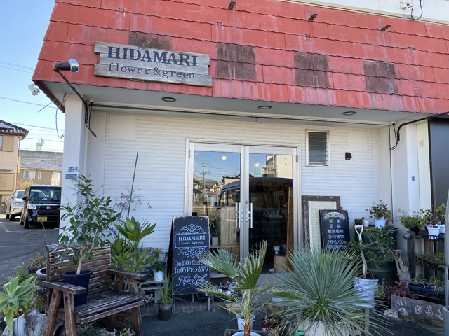 花屋:HIDAMARI