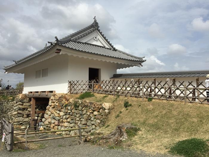 浜松城天守門
