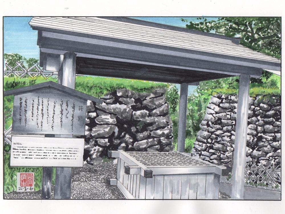 徳川家康を巡る情景3:外の井戸(銀明水)