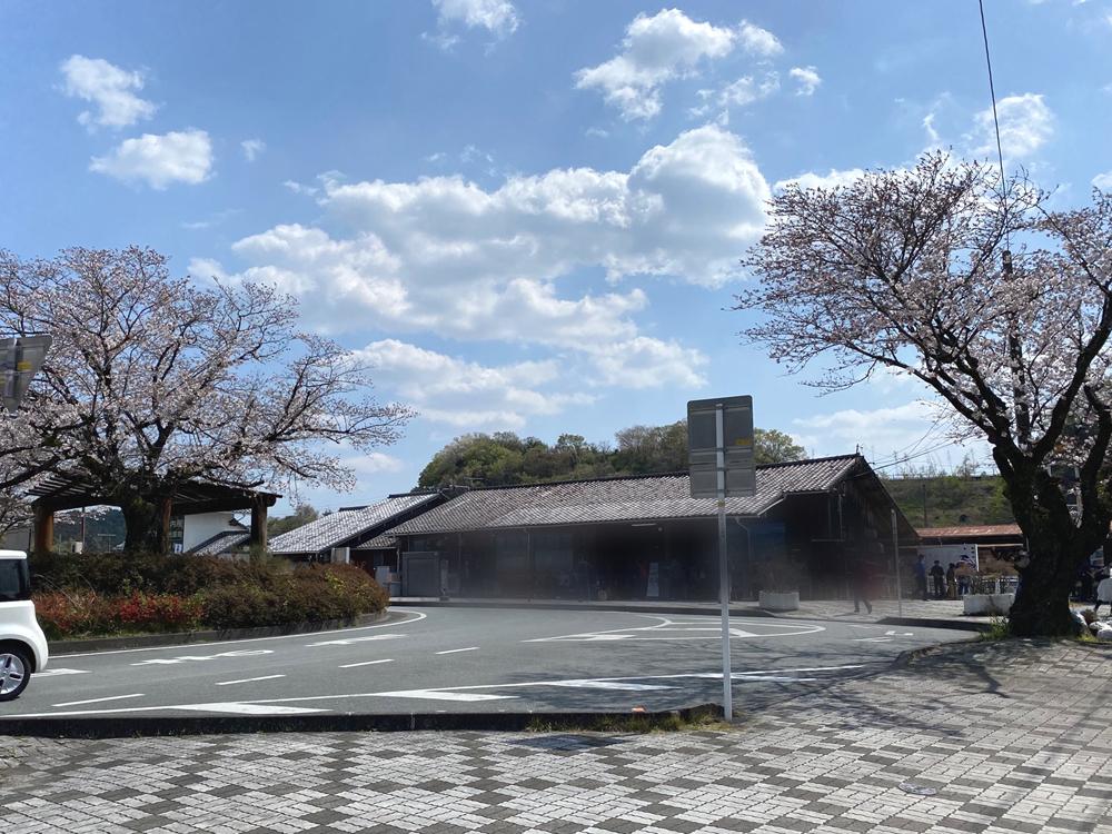 天竜二俣駅と桜