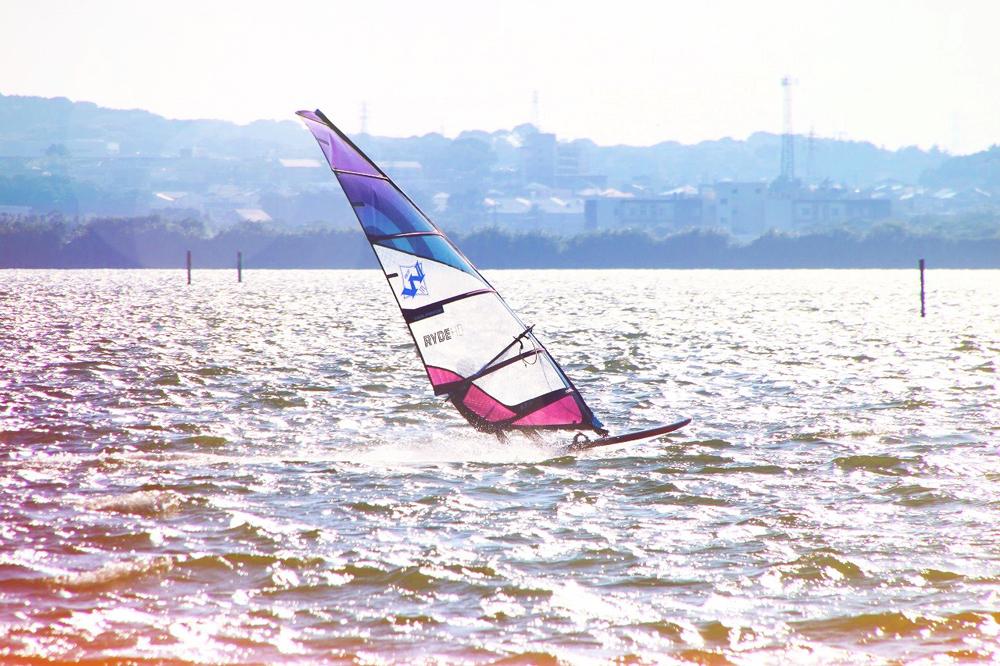浜名湖村櫛海岸:ウインドサーフィン