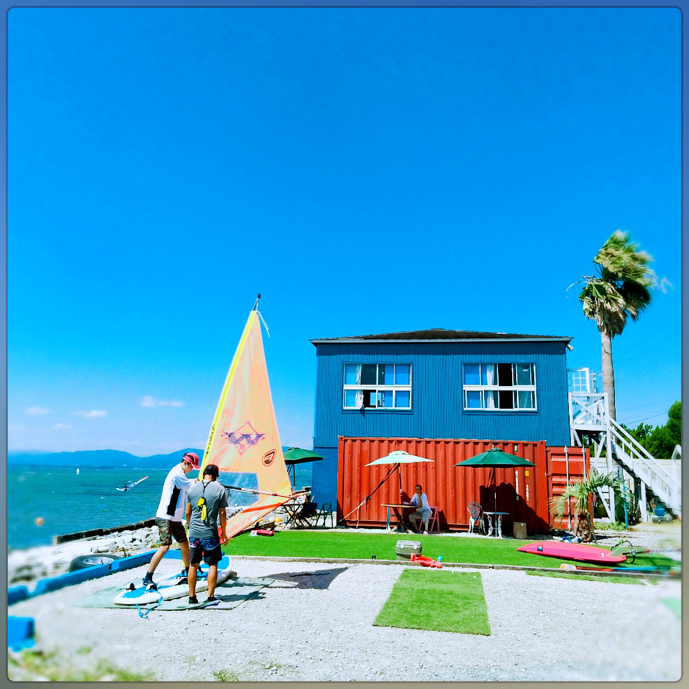 浜名湖村櫛海岸:ウインドサーフィン「プロショップWINDS171」