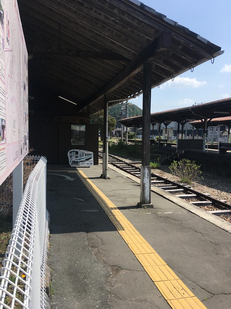 天竜二俣駅ホーム
